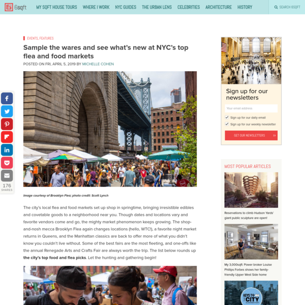 Sample the wares and see what's new at NYC's top flea and food markets | 6sqft