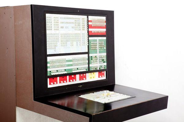 Elea 9003/2 computer for Olivetti / Ettore Sottsass
