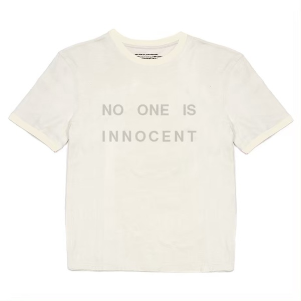 Telfar for 'No One Is Innocent', a prison abolition fundraiser