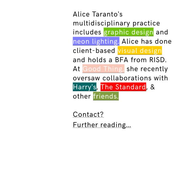Alice Taranto
