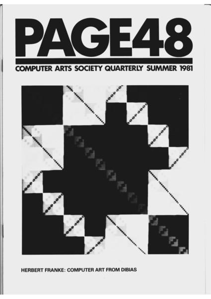 PAGE48 Computer Arts Society