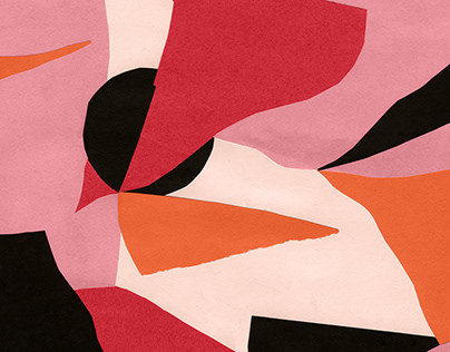 Abstract Collages (For Textile Design)