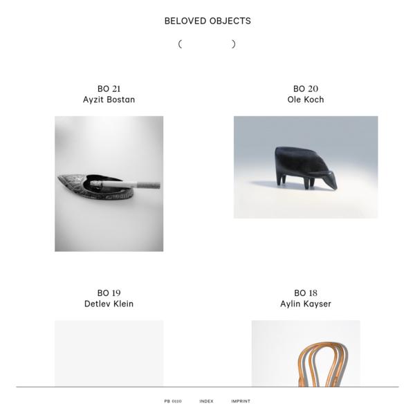 Beloved Objects