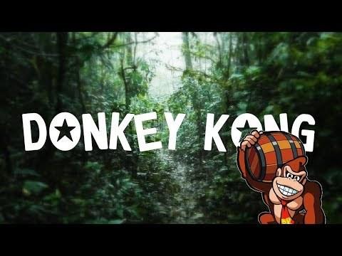 Relaxing Donkey Kong Music + Rain & Thunderstorm Sounds