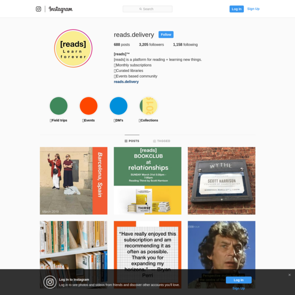 [reads]™️ (@reads.delivery) * Instagram photos and videos