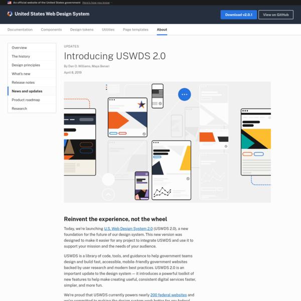 Introducing USWDS 2.0 | United States Web Design System
