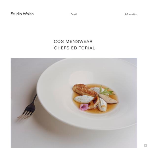Studio Walsh - Art Direction, Graphic Design + Image Making
