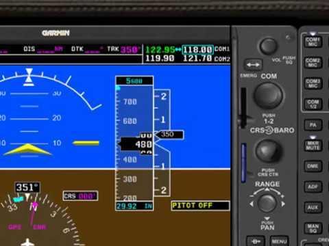 Mindstar Aviation G1000 - Video 4: Demo Flight