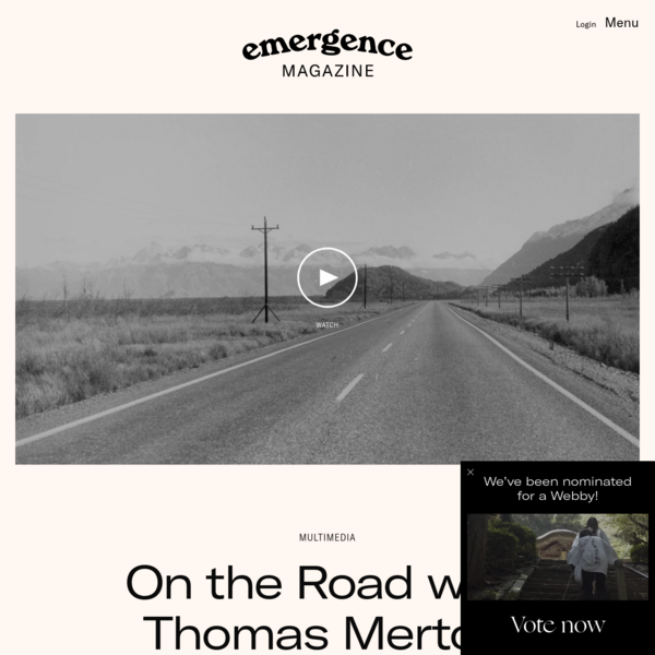 On the Road with Thomas Merton - Emergence Magazine