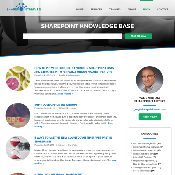 SharePoint best practices, tips and tricks | SharePoint Maven