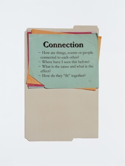 Anne Collier, Questions (Connection) 2011