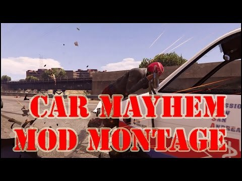 GTA 5 PC MODS MONTAGE - SLOW MOTION Beethoven Moonlight Sonata