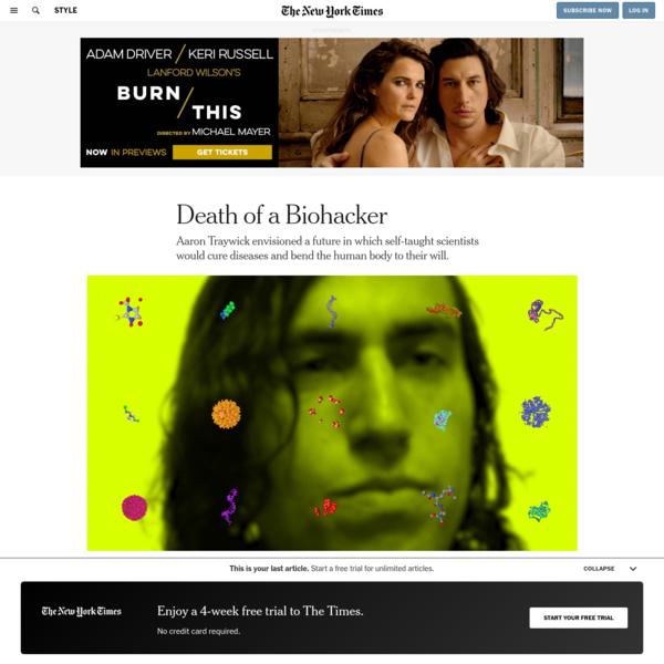 Death of a Biohacker