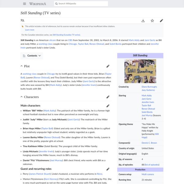 Still Standing (TV series) - Wikipedia