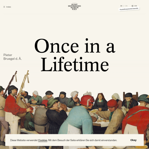 Bruegel - Once In A Lifetime