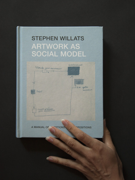 by Stephen Willats Research Group for Artists Publications, 2012  This manual by artist Stephen Willats is a tool for artists and practitioners seeking to utilize Willats' understanding of the potential for dynamic communal interaction in modern society. Willats promotes initiation of socially poignant artistic interventions in this selection of texts, interviews, and artwork spanning five decades of practice.