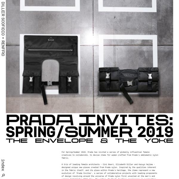 Prada Invites: Spring/Summer 2019