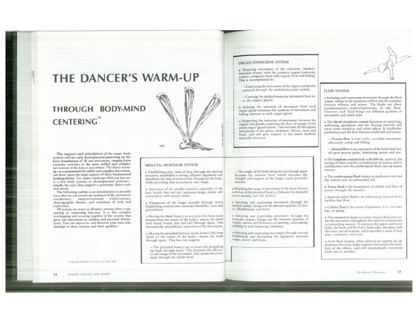 Dancer's Warmup