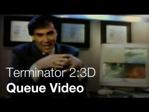 Terminator 2:3D - Cyberdyne Queue Video - Universal Studios Hollywood