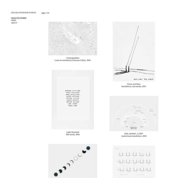 Félicie d'Estienne d'Orves - Selected Works