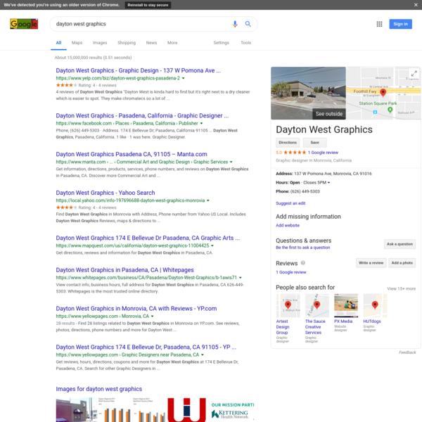 dayton west graphics - Google Search