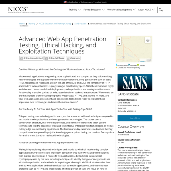 Advanced Web App Penetration Testing, Ethical Hacking, and Exploitation Techniques