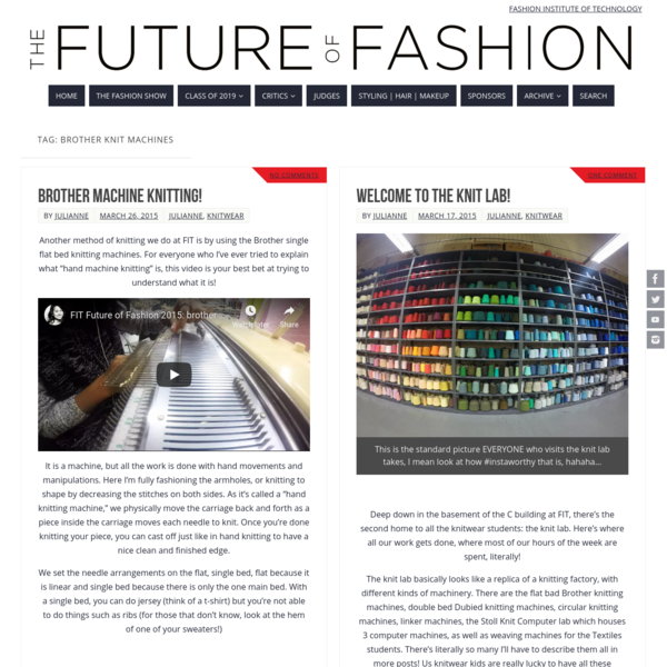The Future of Fashion   F I T Fashion Show