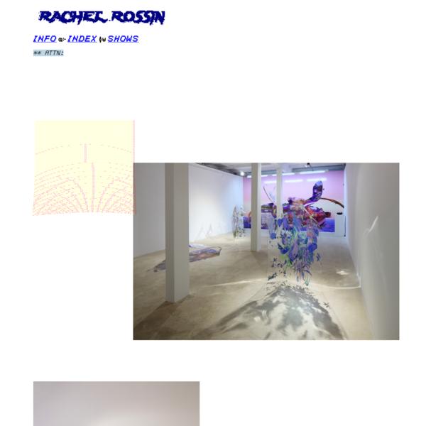 RACHEL ROSSIN: