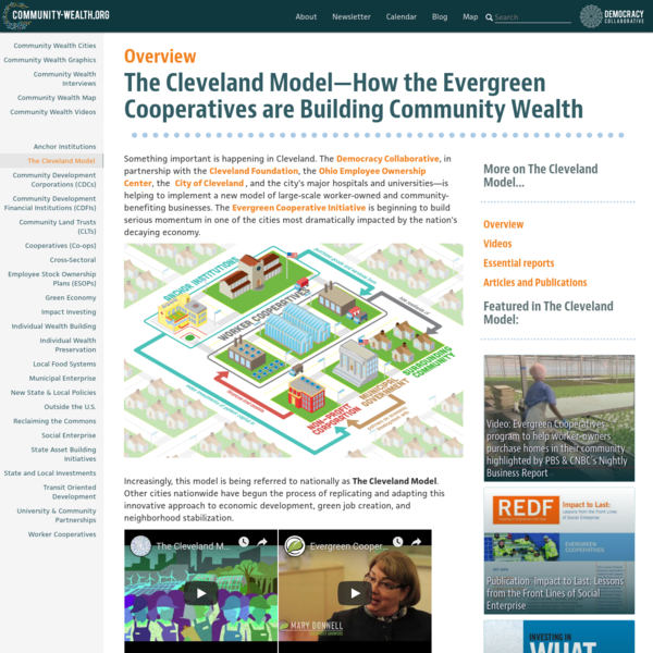 The Cleveland Model-How the Evergreen Cooperatives are Building Community Wealth
