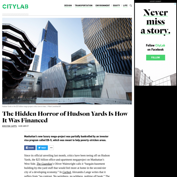 The Worst Thing About Hudson Yards Isn't the Architecture
