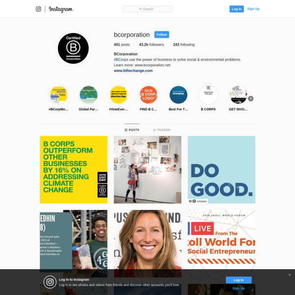 BCorporation (@bcorporation) * Instagram photos and videos