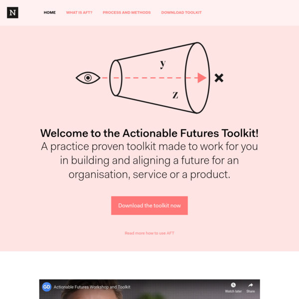 Actionable Futures Toolkit