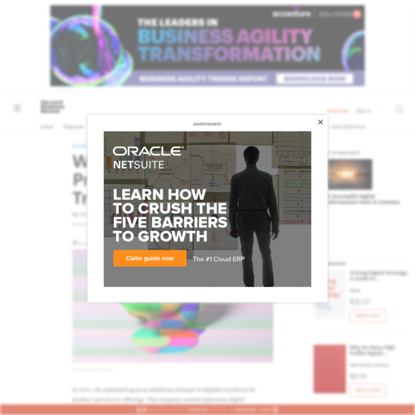 Why So Many High-Profile Digital Transformations Fail