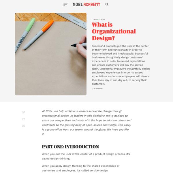 What is Organizational Design?