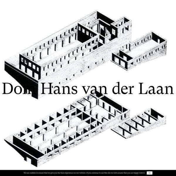 Homepage - Dom Hans van der Laan
