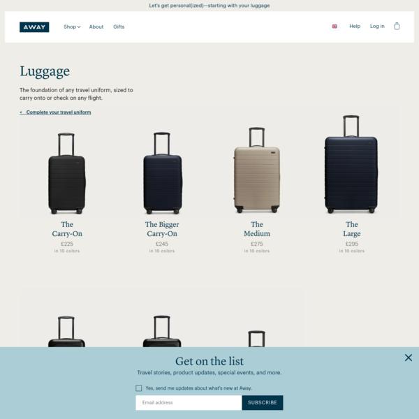 Away - Suitcases