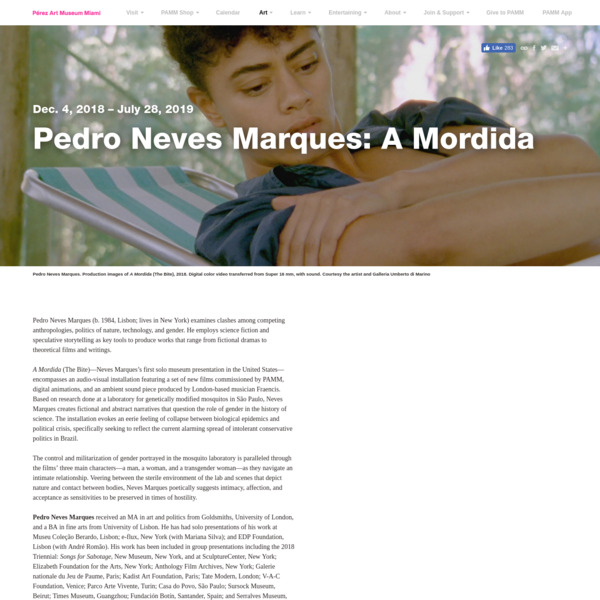 Pedro Neves Marques: A Mordida