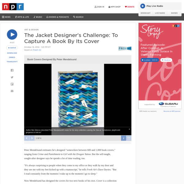 The Jacket Designer's Challenge: To Capture A Book By Its Cover