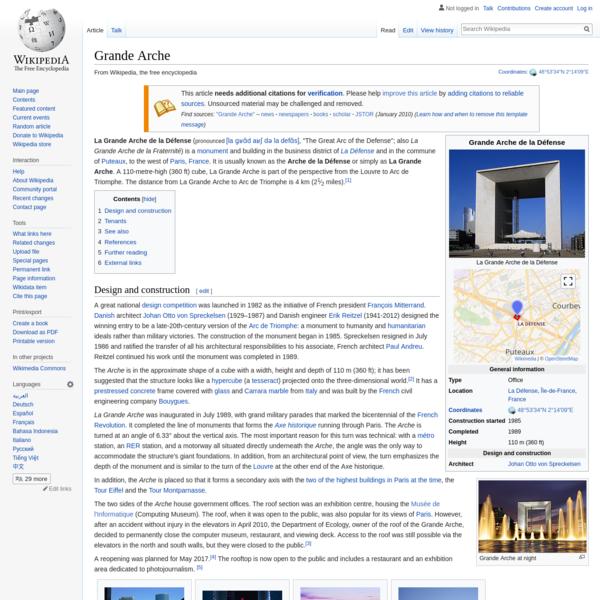 Grande Arche - Wikipedia