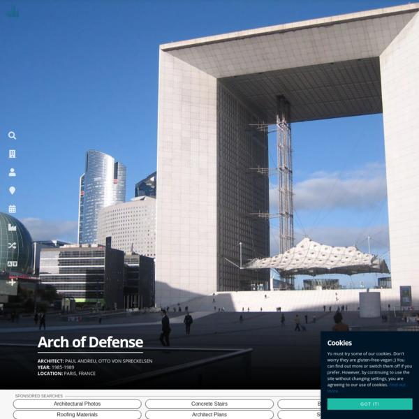 Arch of Defense - Data, Photos & Plans - WikiArquitectura