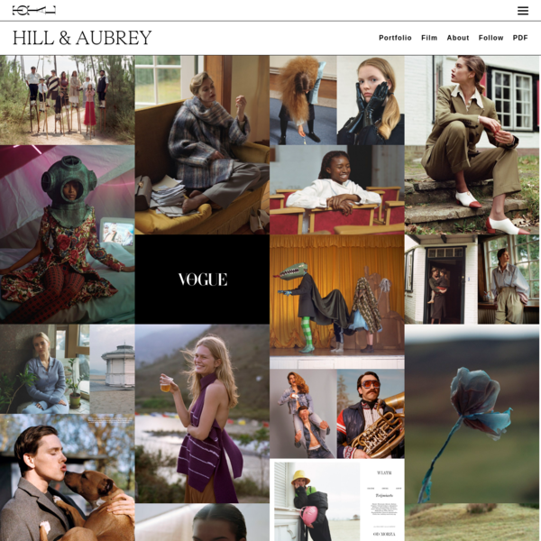 Total Management - Photography and Film - HILL & AUBREY