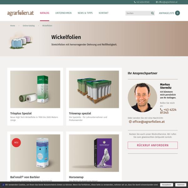 Wickelfolien Archives - agrarfolien.at - Innovative Lösungen für die Landwirtschaft, Ernteschutz, Stretchfolie, Rundballennetz
