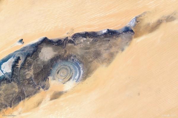 Fderik, Mauritania (Google Earth View 1107)