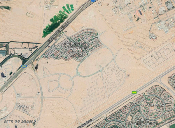 Falcon City of Wonders - UAE