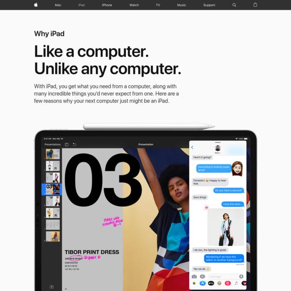 iPad - Why iPad