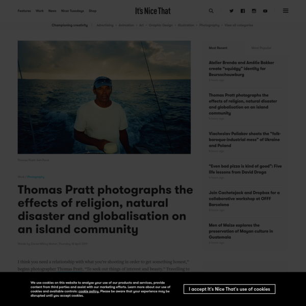 Thomas Pratt photographs the effects of religion, natural disaster and globalisation on an island community