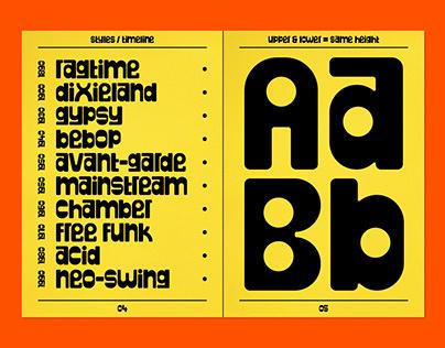 DR-Plunk - Typeface