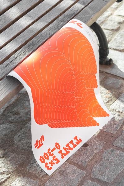 TINY 5x3 Meteoroid Poster Bench shot