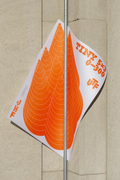 TINY 5x3 Meteoroid Poster Wall Mount