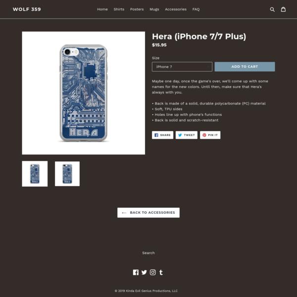 Hera (iPhone 7/7 Plus)